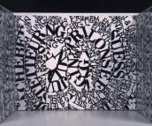 Ferdinand Kriwet - Text-Wände