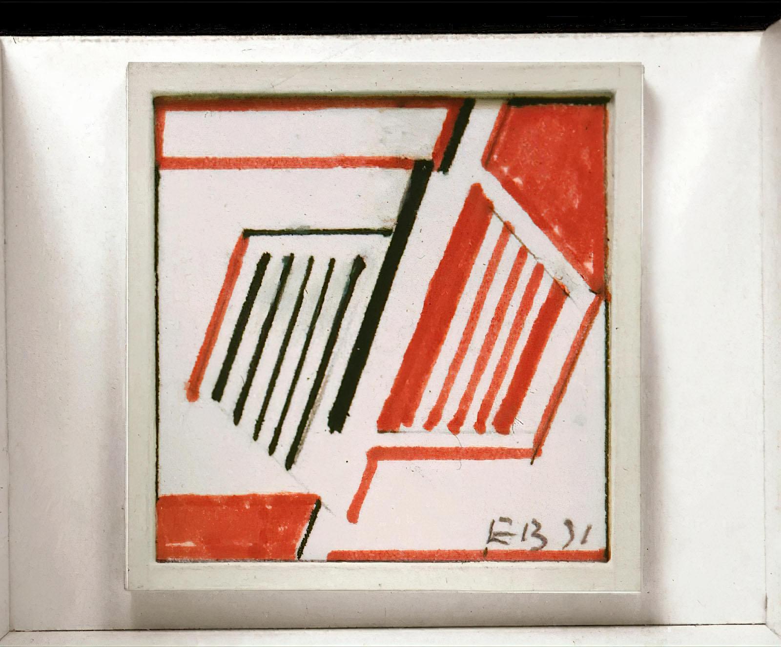 Erich Buchholz - In Schwarz und Rot