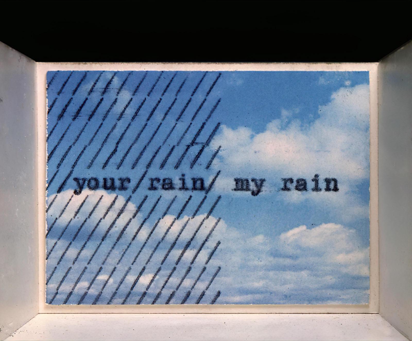 Endre Tót - Your Rain my Rain