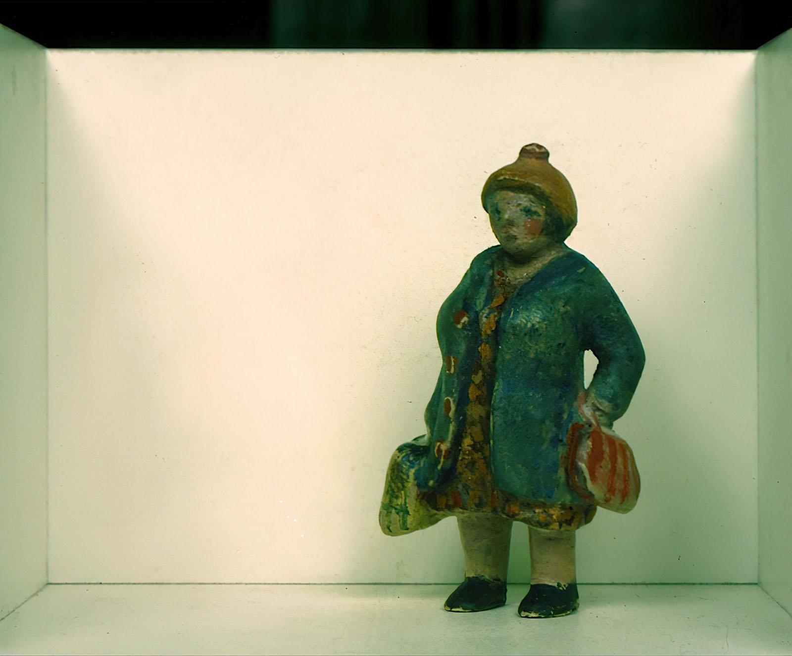 Duane Hanson - Shopping Lady