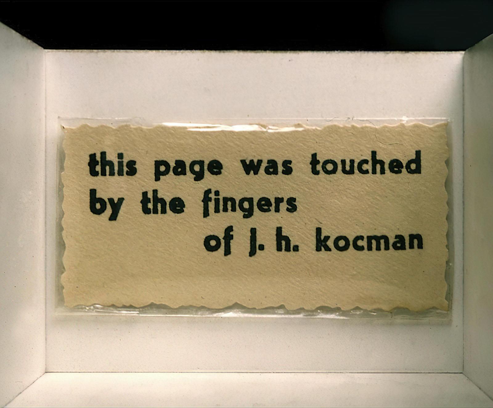 J.H. Kocman - Untitled