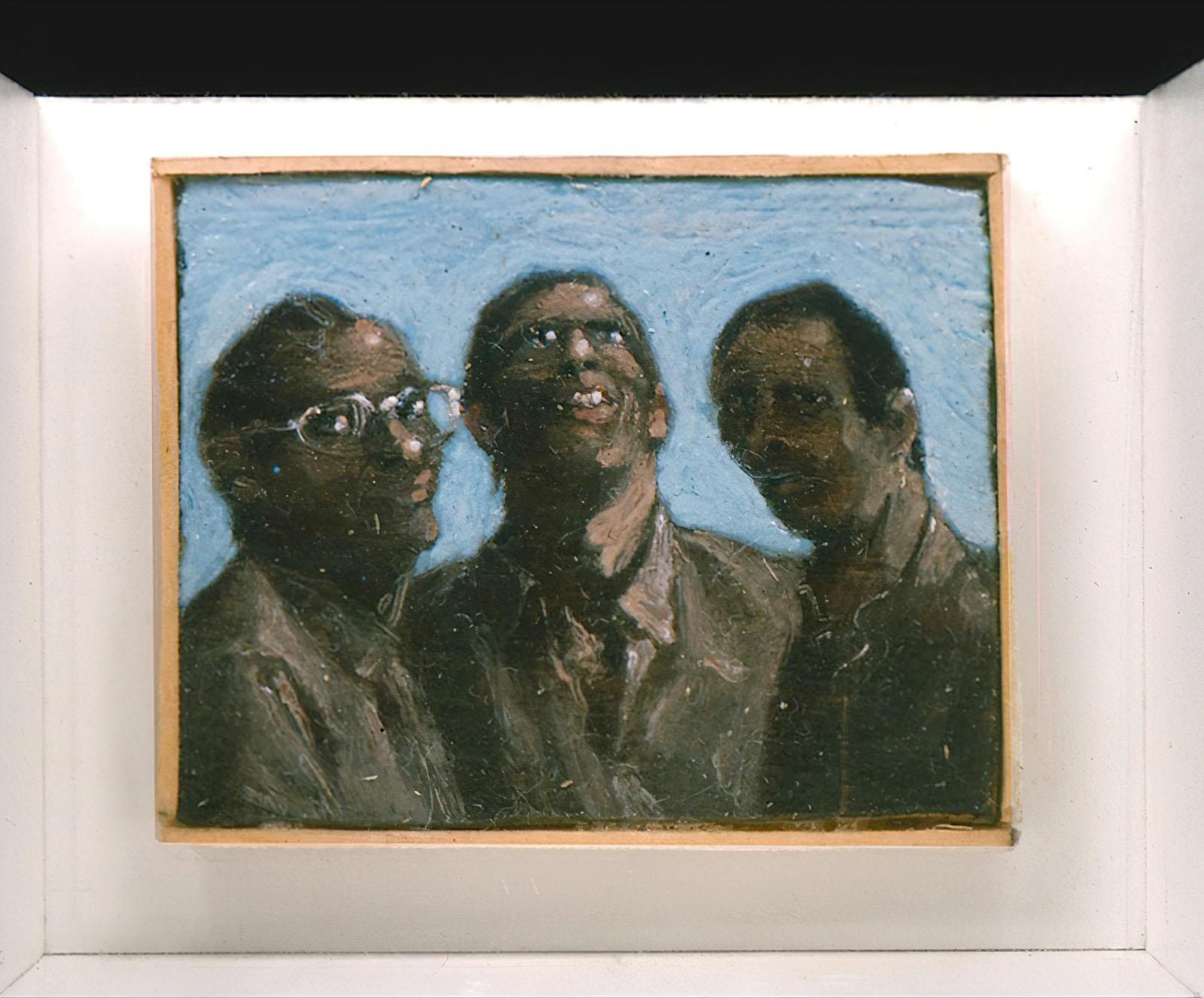 Johannes Grützke - Drei Freunde