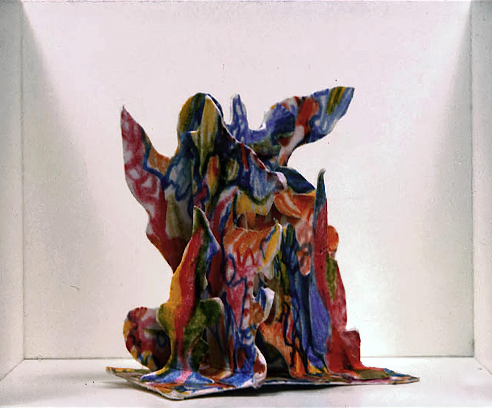 Bernard Schultze - Miniatur-Papier-Migof