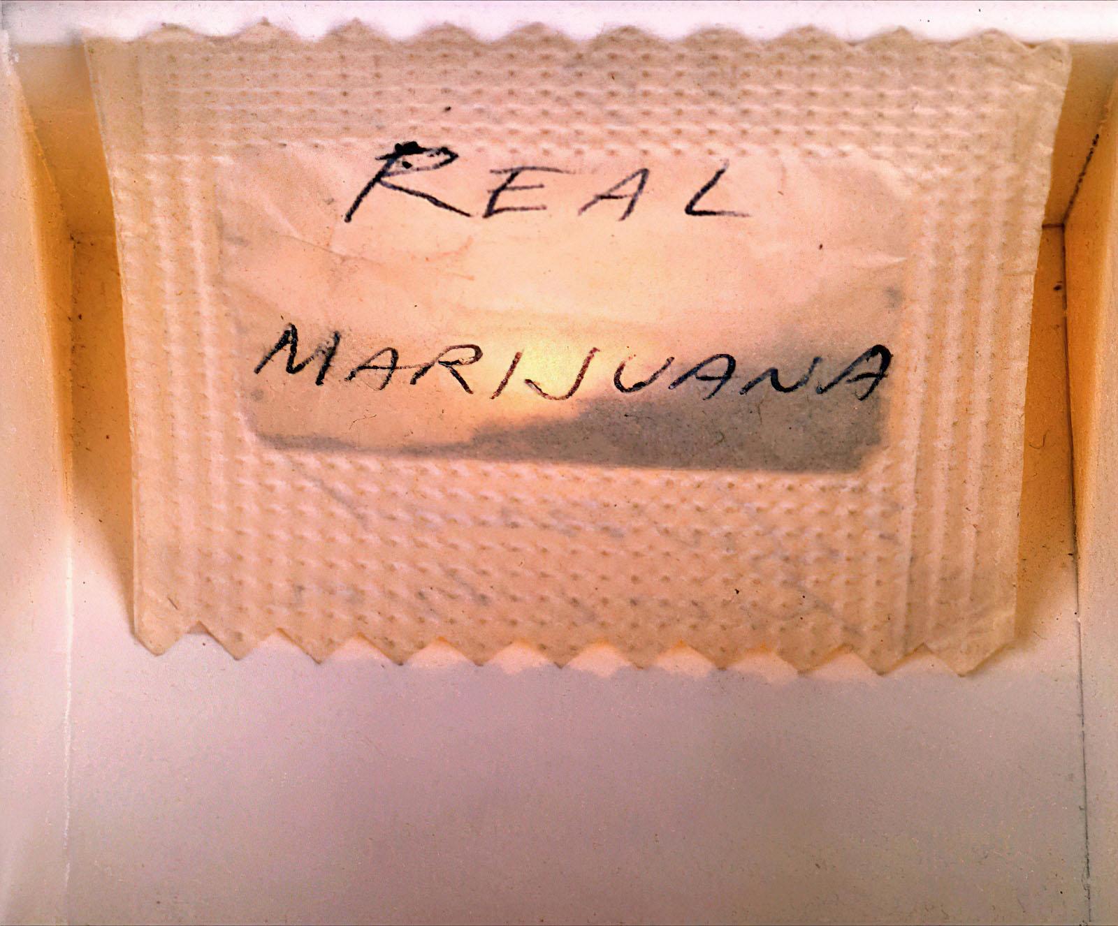 Ed Ruscha - Real Marijuana