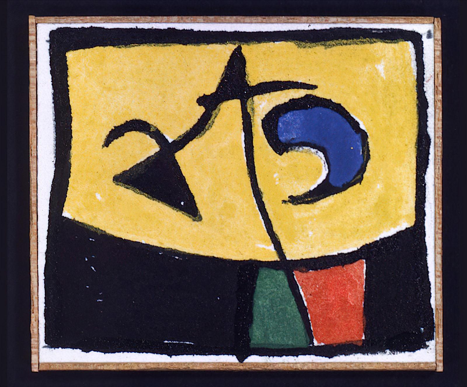 Joan Miró - 13.01.1976