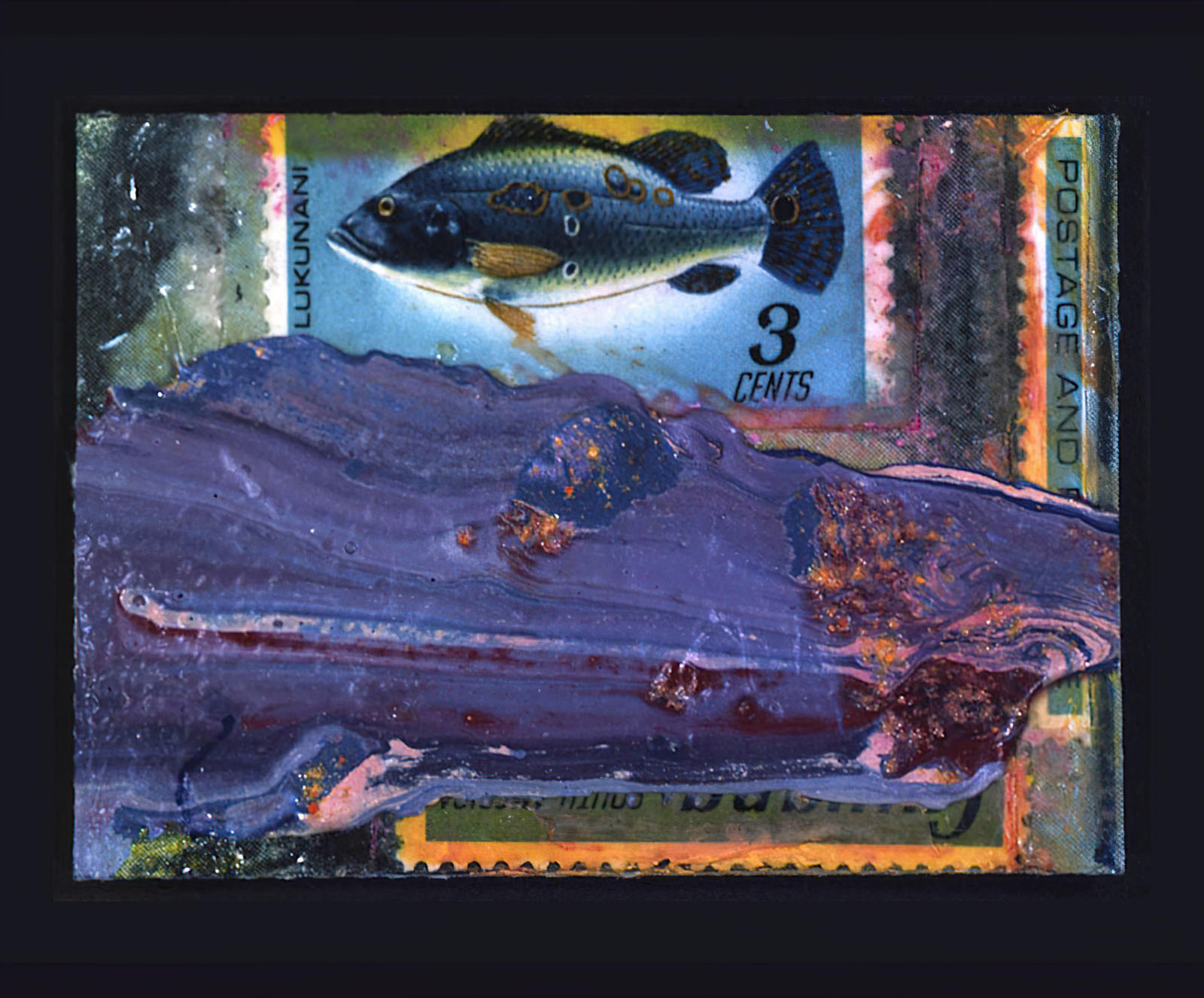 Frank Bowling - Silenus Pisces II