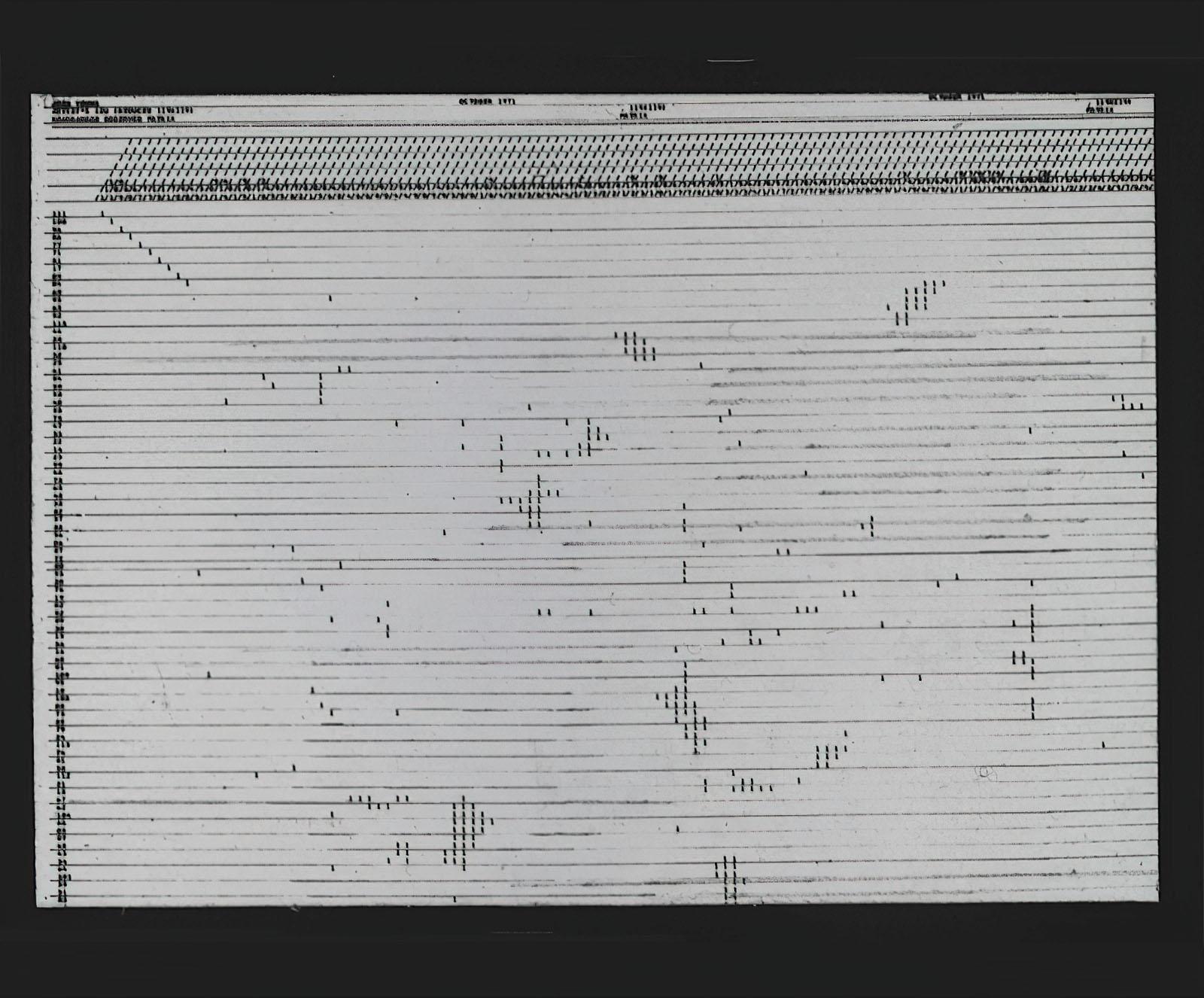 Joshua Young - Artists / BU rearranged observed matrix