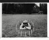Jan Dibbets - Perspective Correction photograph - a Circle
