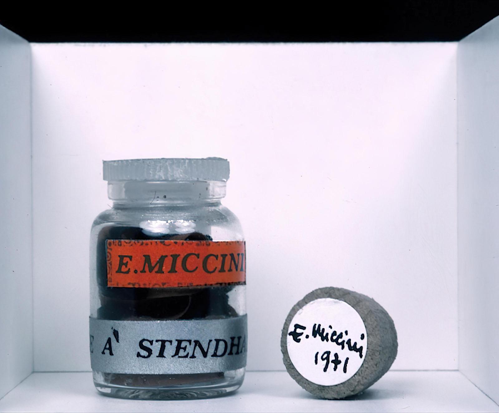 Eugenio Miccini - «Hommage à Stendhal»